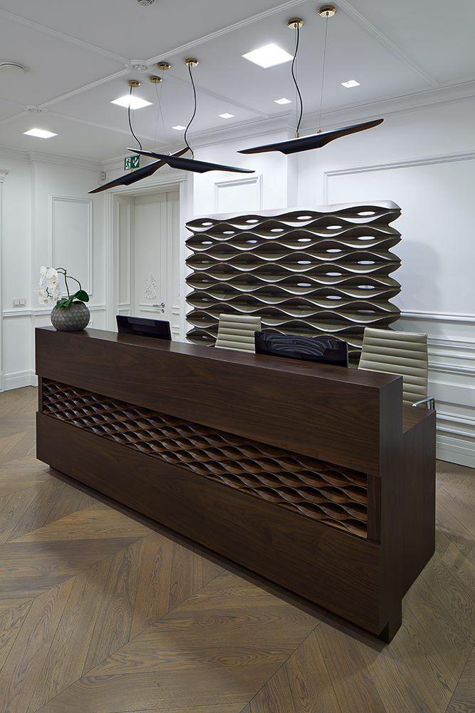 Дизайн интерьера банка - Norvik Bank, Рига