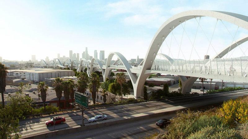 Топ 20 Топ 20 Топ 20 архитекторов и дизайнеров 2016 года Sixth Street Viaduct 01  Image Michael Maltzan Architecture