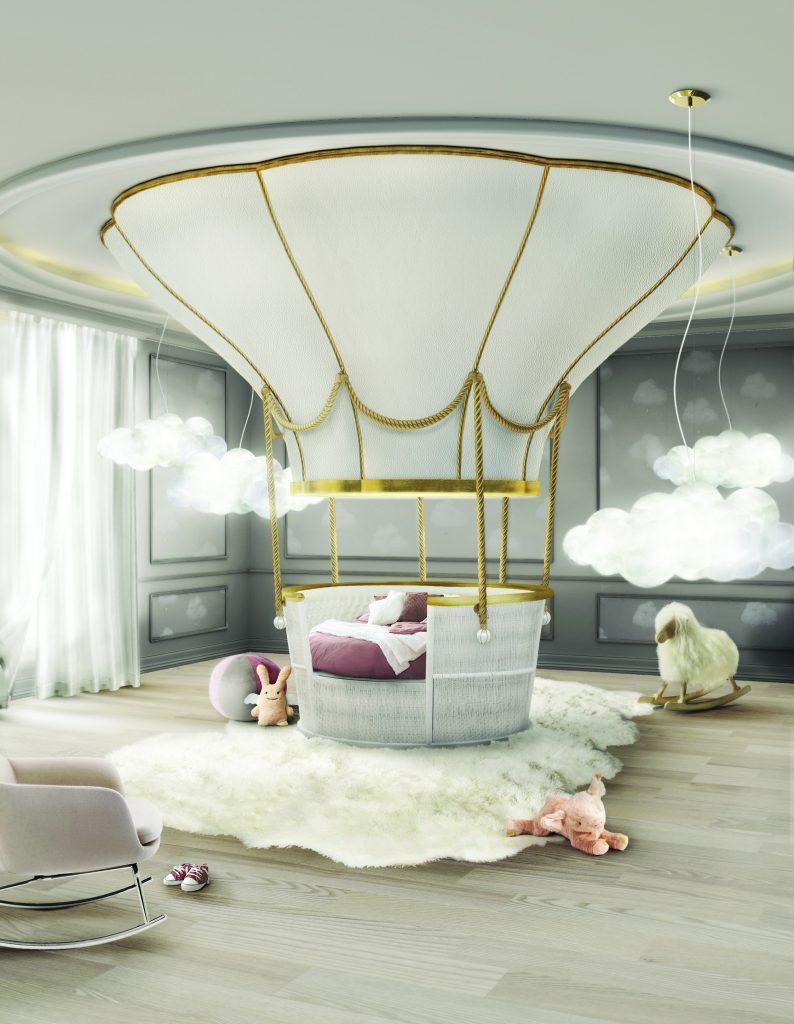 Интерьер детской комнаты в стиле Disnay Land  Интерьер детской комнаты Интерьер детской комнаты в стиле Disneyland – 7 идей для вдохновения balao NOVO 794x1024