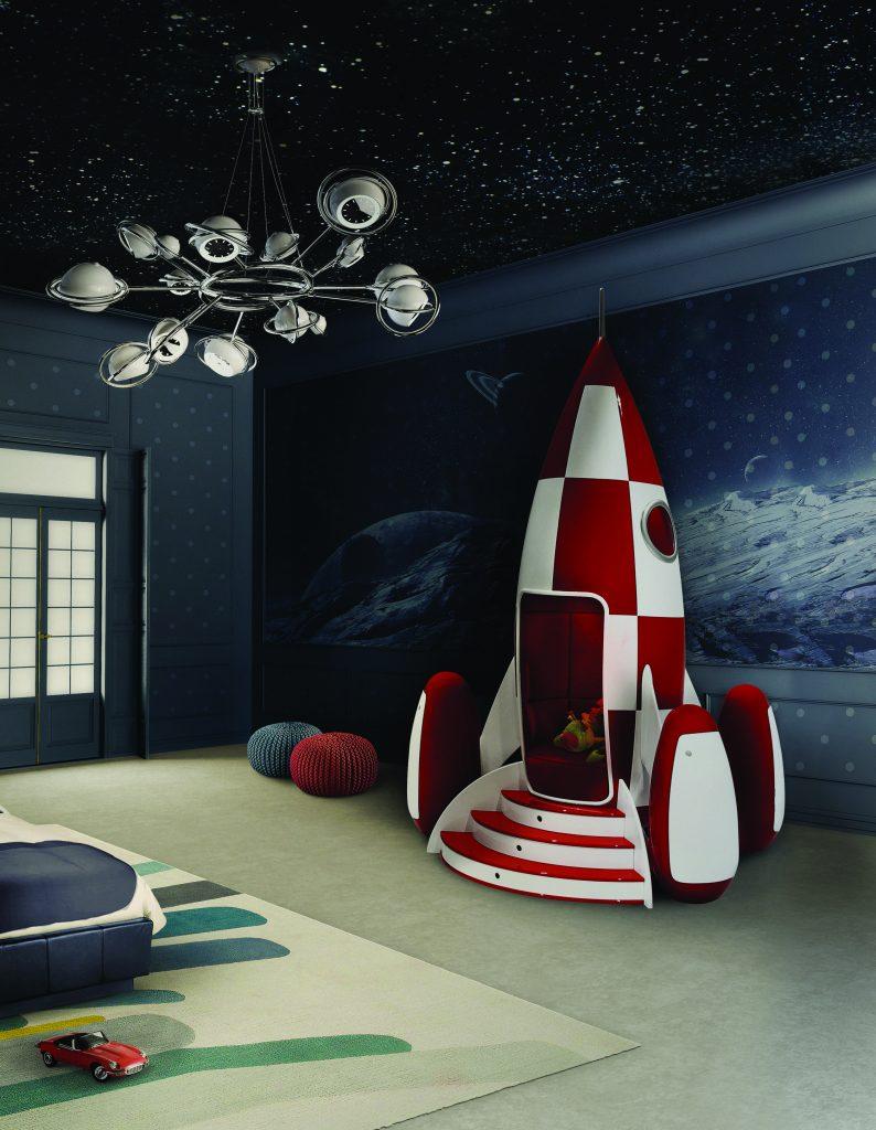 circu-rocket-ambiance Интерьер детской комнаты Интерьер детской комнаты в стиле Disneyland - 7 идей для вдохновения circu rocket ambiance