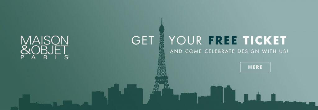 free-tickets-maison-et-objet-2017 Maison&Objet 2017 Самый полный путеведитель по выставке Maison&Objet 2017 free tickets maison et objet 2017