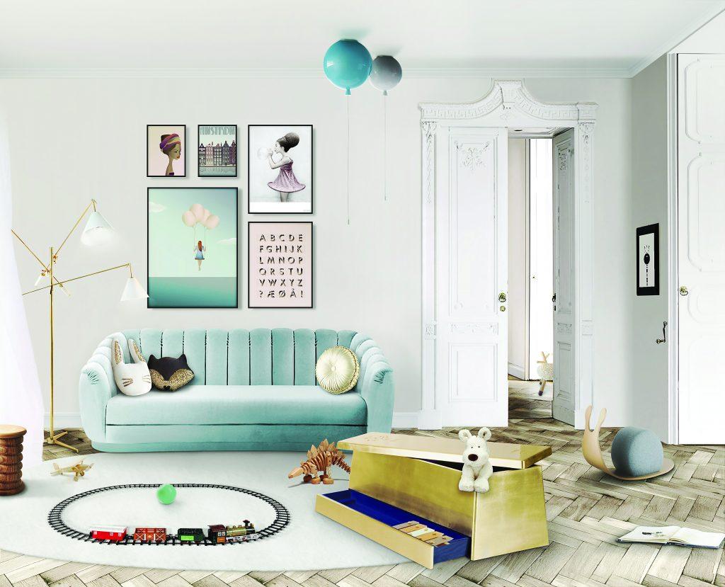 Интерьер детской комнаты в стиле Disnay Land  Интерьер детской комнаты Интерьер детской комнаты в стиле Disneyland – 7 идей для вдохновения gold box ambiente 1024x829