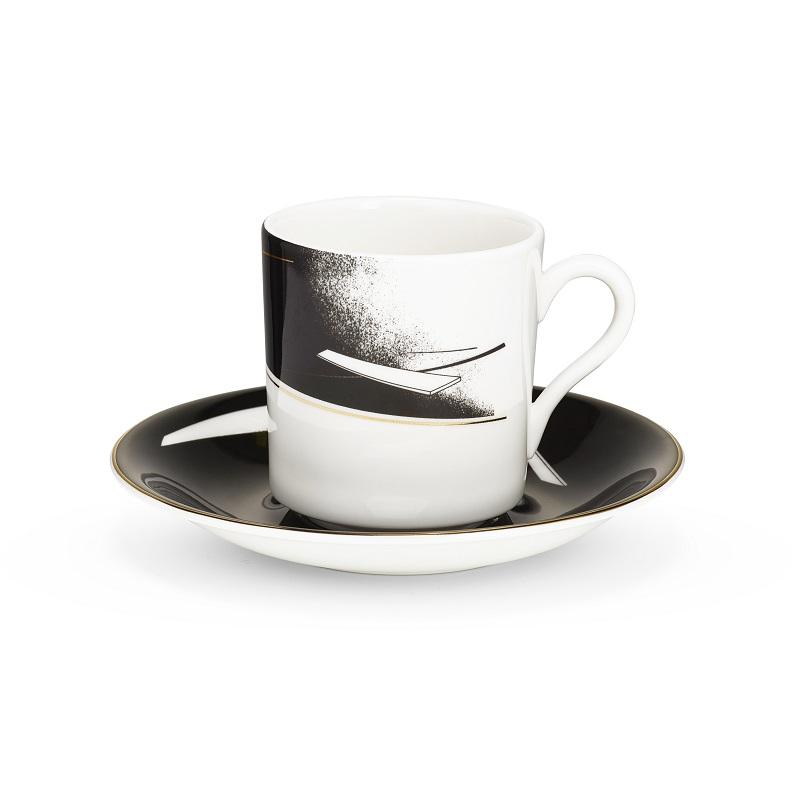 Заха Хадид По следам Maison et Objet 2017 - коллекция Заха Хадид ZHD Beam CoffeeCupSaucer
