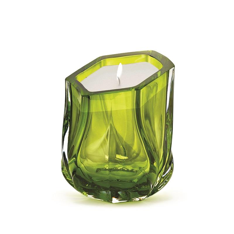По следам Maison et Objet 2017 - коллекция Заха Хадид Заха Хадид По следам Maison et Objet 2017 - коллекция Заха Хадид ZHD Shimmer Candle SingleWick Lime