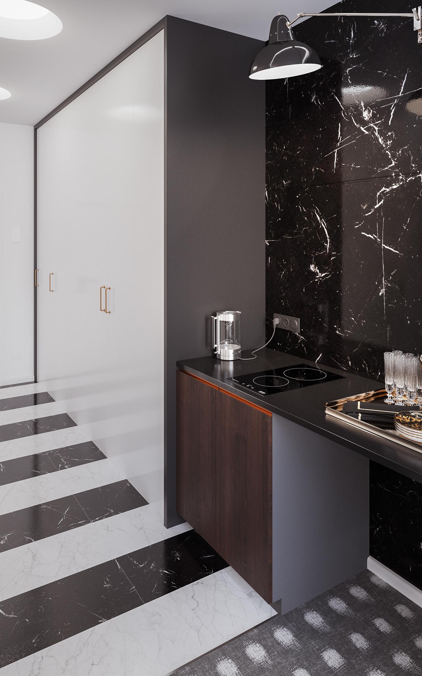 Роскошная квартира Роскошная квартира Роскошная квартира от дизайнера Ольги Ермолиной f2897134905039