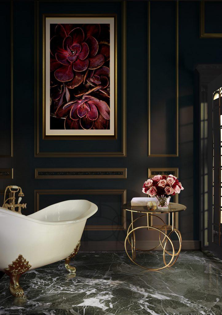 Роскошная ванная комната - 7 дизайнерских идей Роскошная ванная комната Роскошная ванная комната - 7 дизайнерских идей kiki side table koket projects