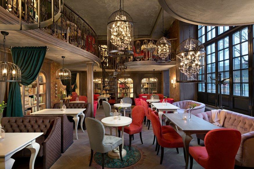 интерьерный проект интерьерный проект Литературное кафе во Львове – интерьерный проект студии ARS-IDEA max 20161127135654414