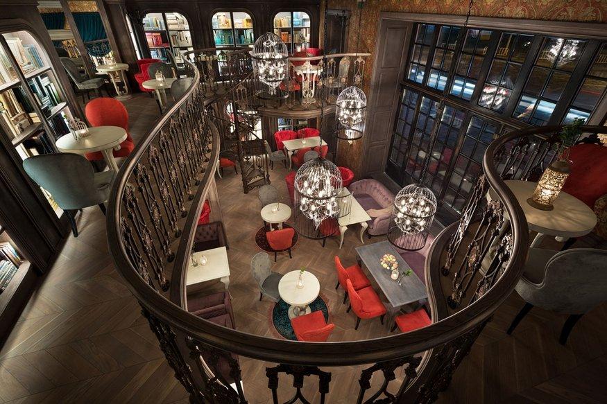 интерьерный проект интерьерный проект Литературное кафе во Львове – интерьерный проект студии ARS-IDEA max 20161127135719856