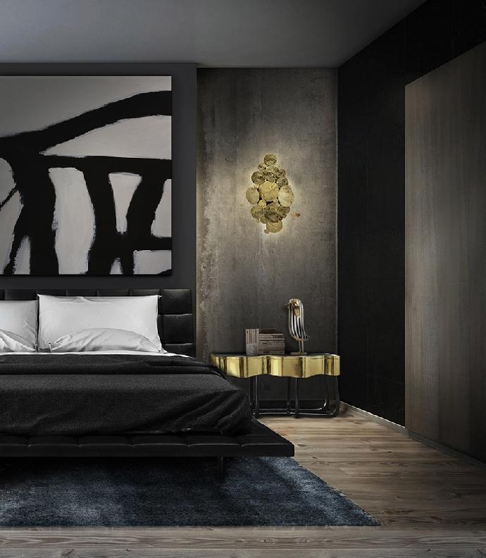 Идеи кофейных и боковых столиков Идеи кофейных и боковых столиков, которые вы сразу полюбите Bedroom Boca do Lobo 10