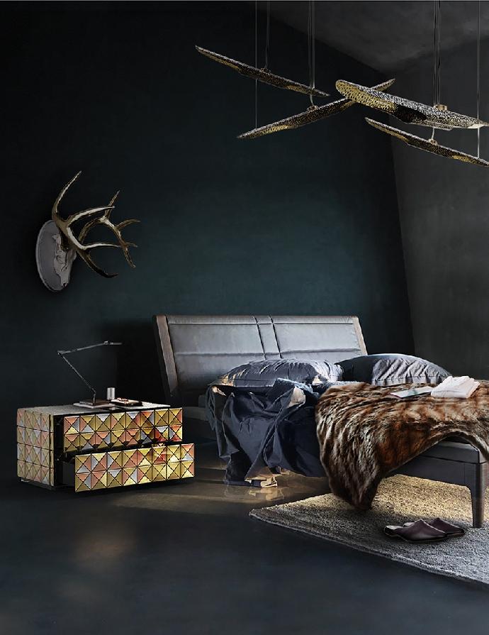 Идеи кофейных и боковых столиков Идеи кофейных и боковых столиков, которые вы сразу полюбите Bedroom Boca do Lobo 11