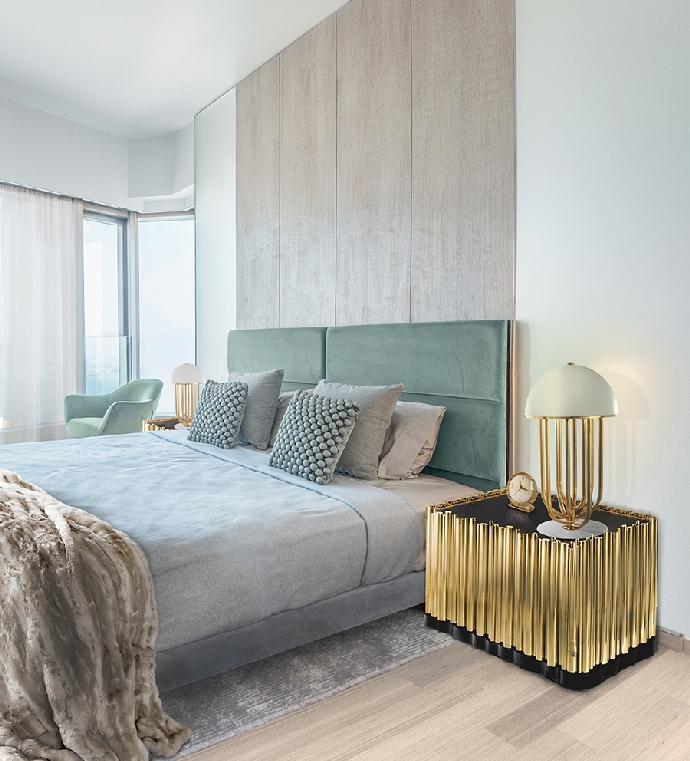Идеи кофейных и боковых столиков Идеи кофейных и боковых столиков, которые вы сразу полюбите Bedroom Boca do Lobo 14