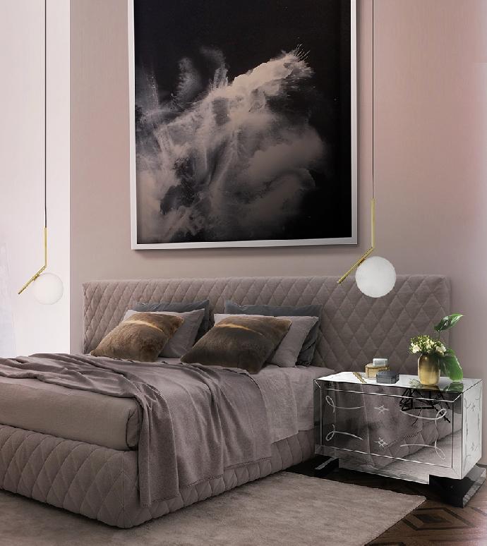 Идеи кофейных и боковых столиков Идеи кофейных и боковых столиков, которые вы сразу полюбите Bedroom Boca do Lobo 15