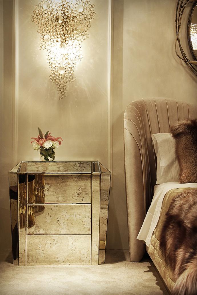 Идеи кофейных и боковых столиков Идеи кофейных и боковых столиков, которые вы сразу полюбите Bedroom koket 03