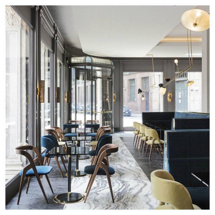 Salone del Mobile 2017: T'a Milano ретро ресторан с эксклюзивным интерьером iSaloni 2017 iSaloni 2017: T'a Milano ретро ресторан с эксклюзивным интерьером 0cdaef6523471b2e0c0951b04ca6b6e0