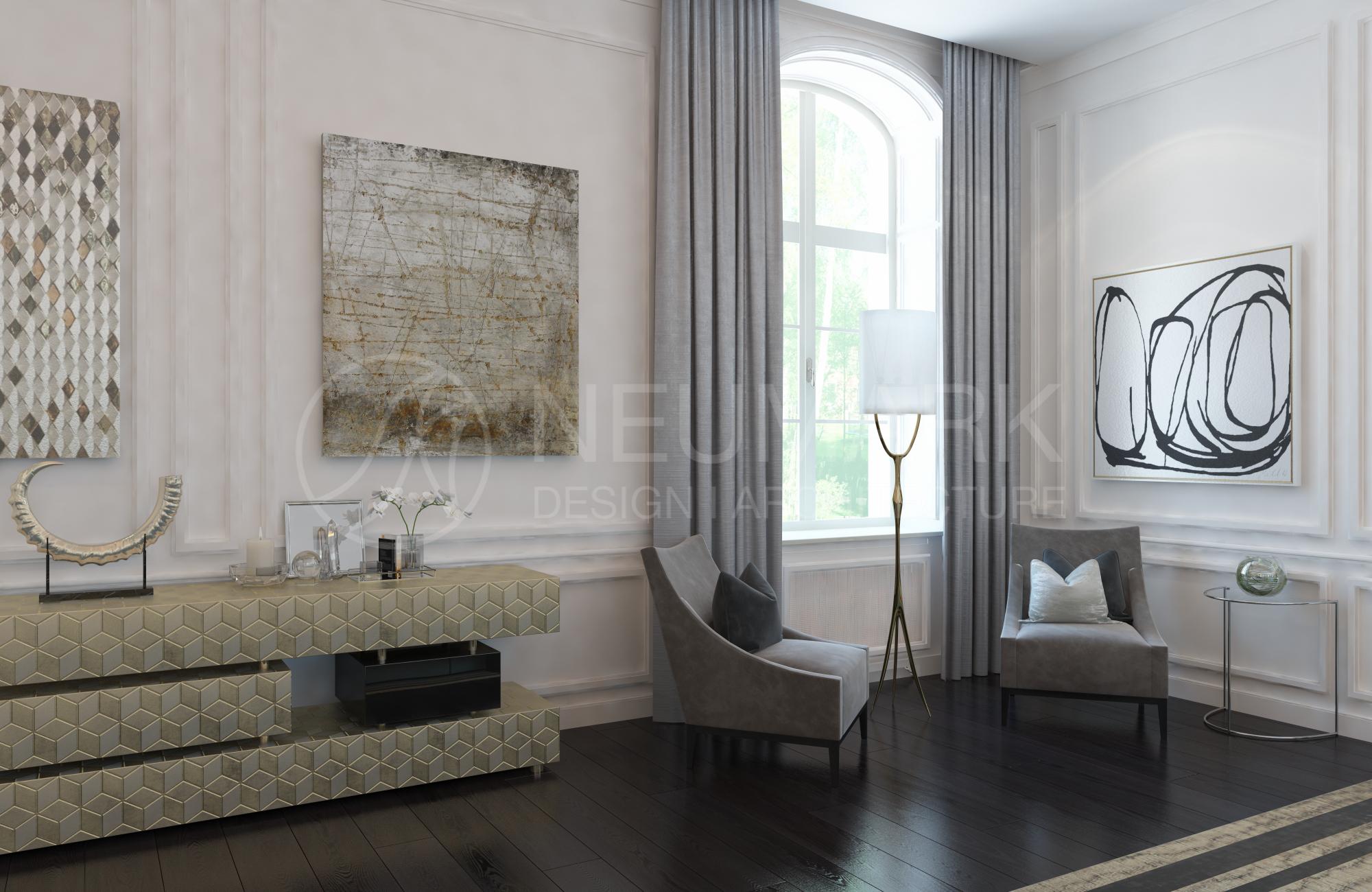 NEUMARK Design: Дом на Рублево-Успенском Шоссе NEUMARK NEUMARK Design: Дом на Рублево-Успенском Шоссе 1 Dovil