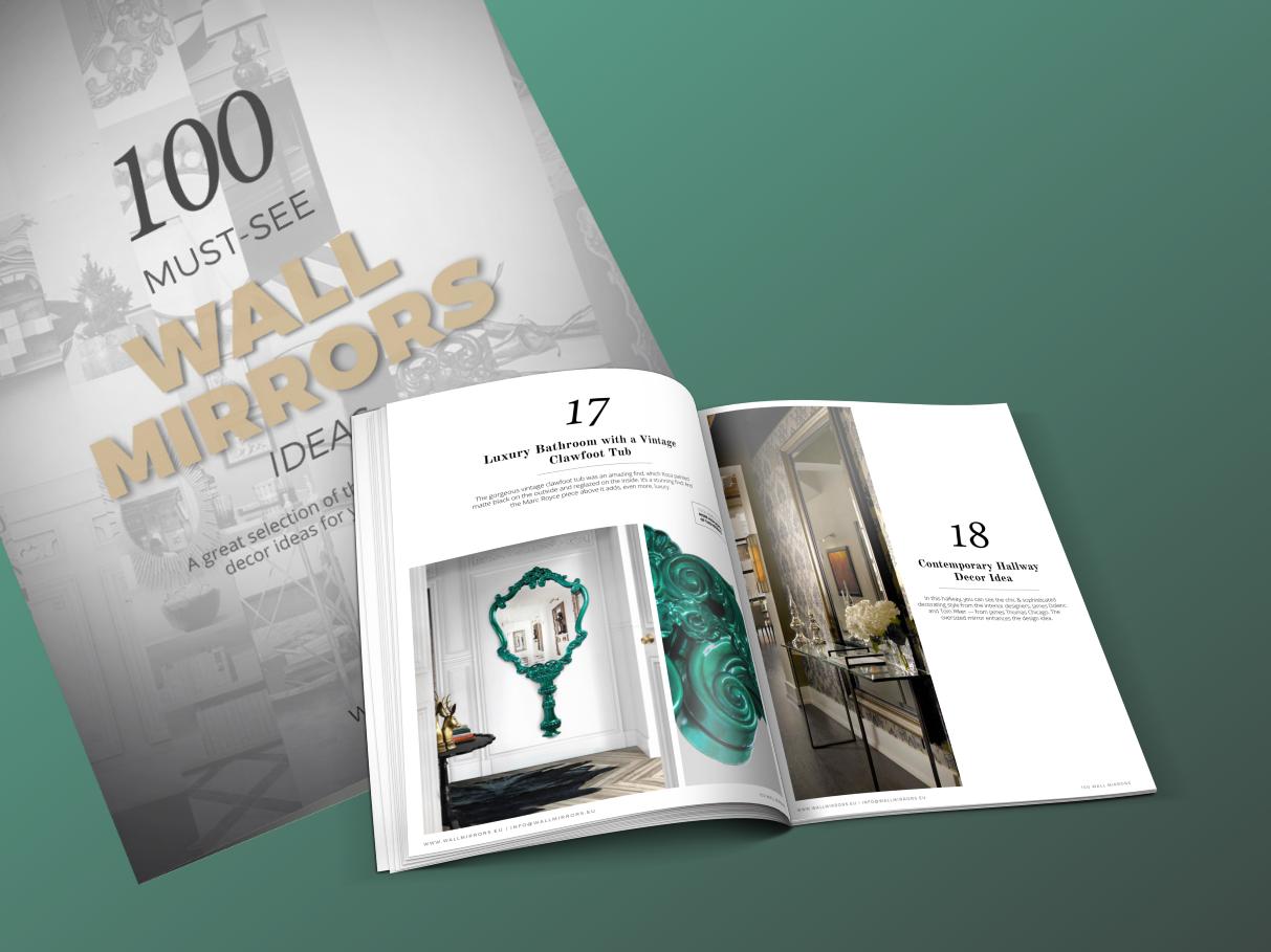 25 лучших настенных зеркал 25 лучших настенных зеркал от ведущих мировых брендов и дизайнеров! 1