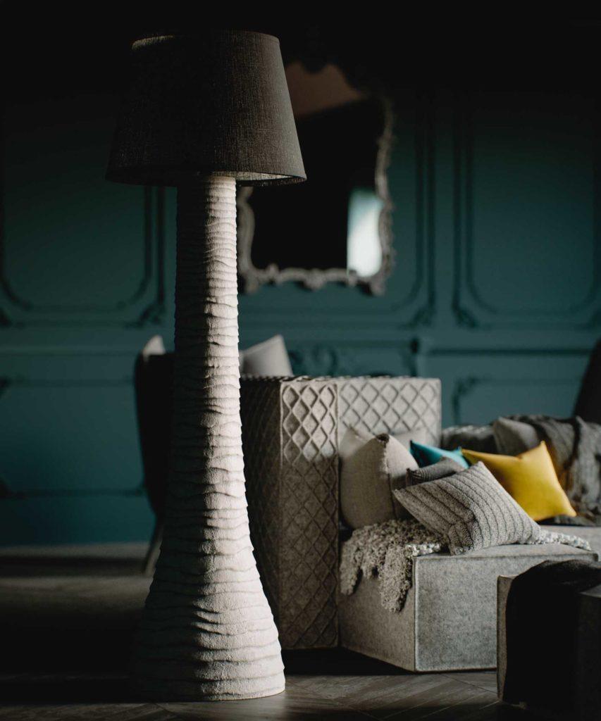 коллекция мебели FAINA коллекция мебели в стиле этноминимализм Floor lamp 1