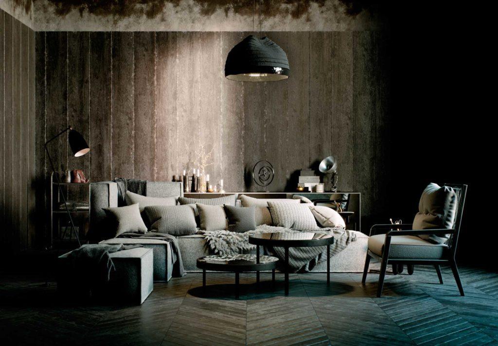 коллекция мебели FAINA коллекция мебели в стиле этноминимализм Sofa polonyna 1