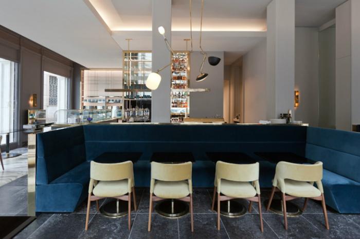 Salone del Mobile 2017: T'a Milano ретро ресторан с эксклюзивным интерьером iSaloni 2017 iSaloni 2017: T'a Milano ретро ресторан с эксклюзивным интерьером Ta Milan Italy 2015 habituallychic 002