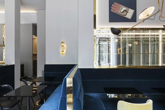 Salone del Mobile 2017: T'a Milano ретро ресторан с эксклюзивным интерьером iSaloni 2017 iSaloni 2017: T'a Milano ретро ресторан с эксклюзивным интерьером Ta Milan Italy 2015 habituallychic 008