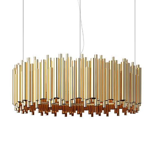 квартира в Алматы Шикарная квартира в Алматы по проекту ATO STUDIO brubeck hanging dining sculptural lamp detail 01
