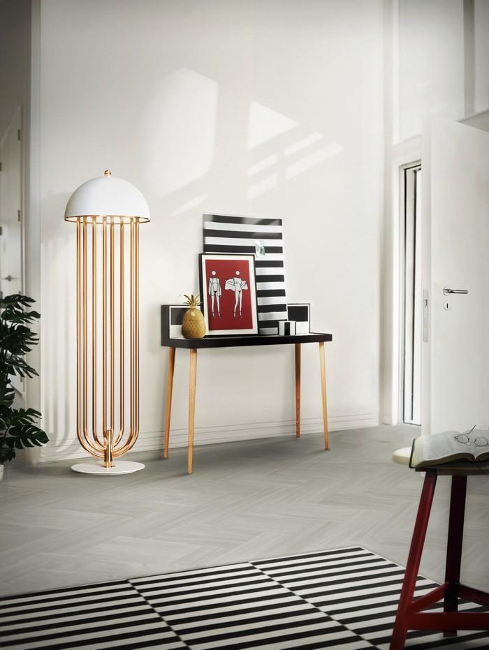тренды освещения Актуальные тренды освещения 2017 от Марии Боровской delightfull turner art deco floor hotel lounge corner lamp 01