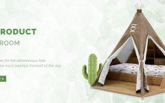 детской Мебель для детской – воплощение мечты от Circu teepee room bed circu magical furniture 240x150
