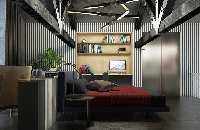 Современный коттедж Современный коттедж на берегу озера 5f27ab49189063
