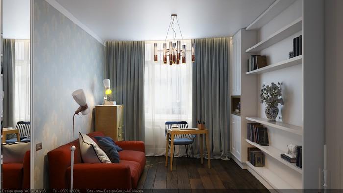 Проект квартиры Проект квартиры Проект квартиры от Станислава Белого - Покровский посад ddf66a50337515