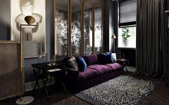 дизайн квартиры Фиолетовый бархат – дизайн квартиры от Марии Полченко 9a7a5f50175023