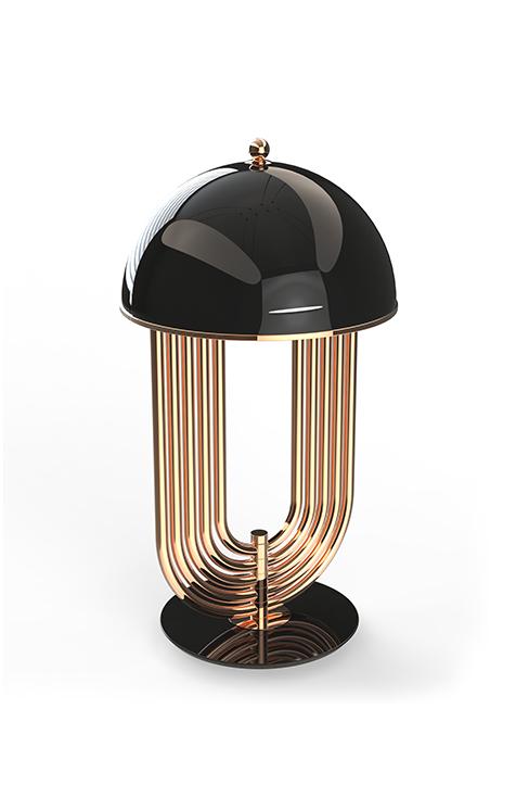 Проект Covet : Современный и Роскошный Интерьер Проект Covet Проект Covet : Современный и Роскошный Интерьер delightfull turner table lamp available finish copper black