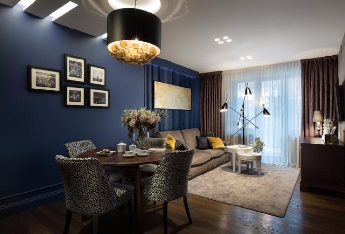 Апартаменты от Натальи Большаковой  Глубокий синий. Апартаменты от Натальи Большаковой 1 1
