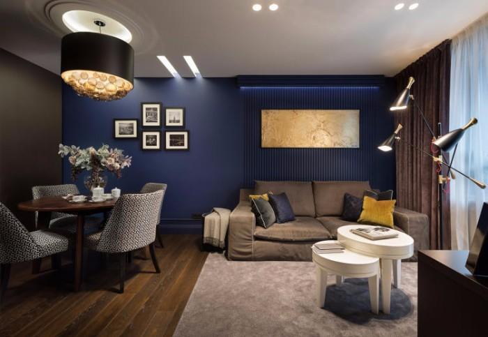 Апартаменты от Натальи Большаковой 3  Глубокий синий. Апартаменты от Натальи Большаковой 2 1
