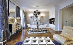 Оп-арт в интерьере парижской квартиры 2 3 240x150