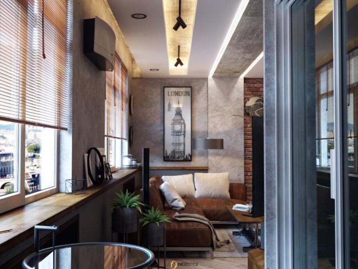Необыкновенная квартира в стиле лофт для вечеринок 4