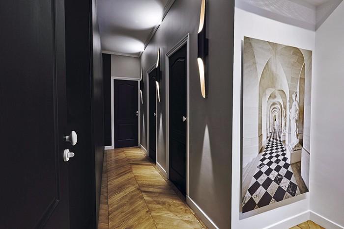 Оп-арт в интерьере парижской квартиры 5 3