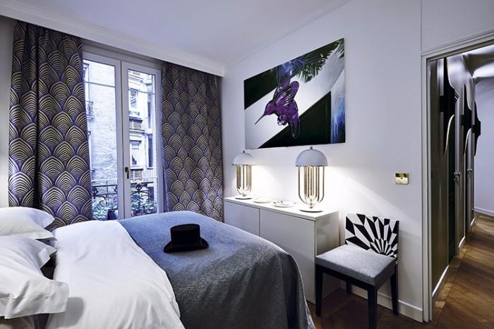 Оп-арт в интерьере парижской квартиры 6 3