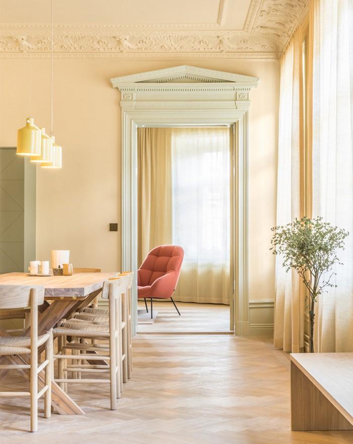 Интерьер апартаментов  Интерьер апартаментов в центре Стокгольма  Quality97  Quality97 02stockholm