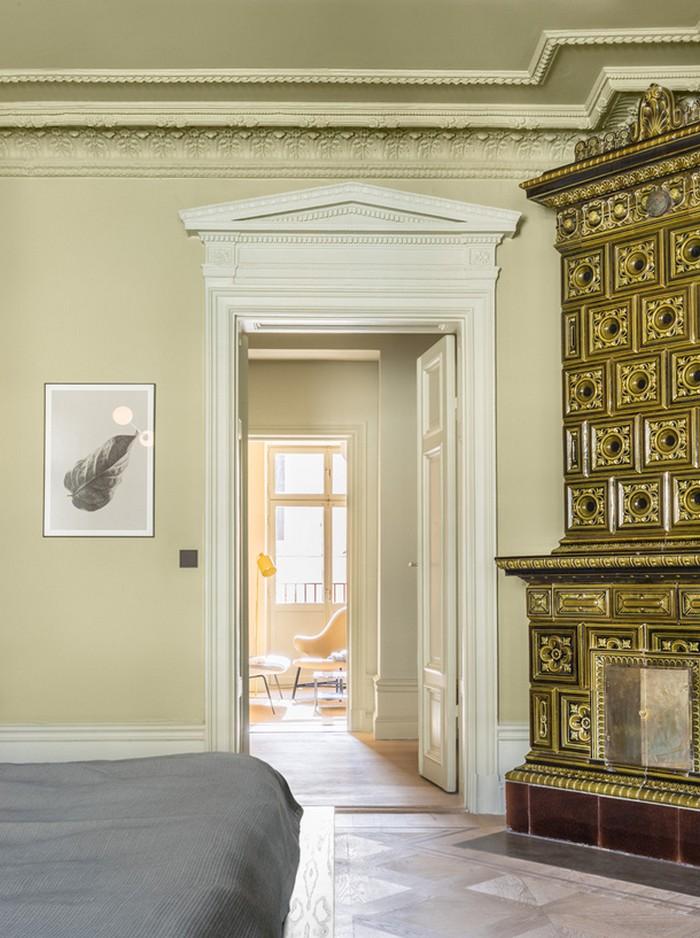 Интерьер апартаментов  Интерьер апартаментов в центре Стокгольма  Quality97  Quality97 010stockholm