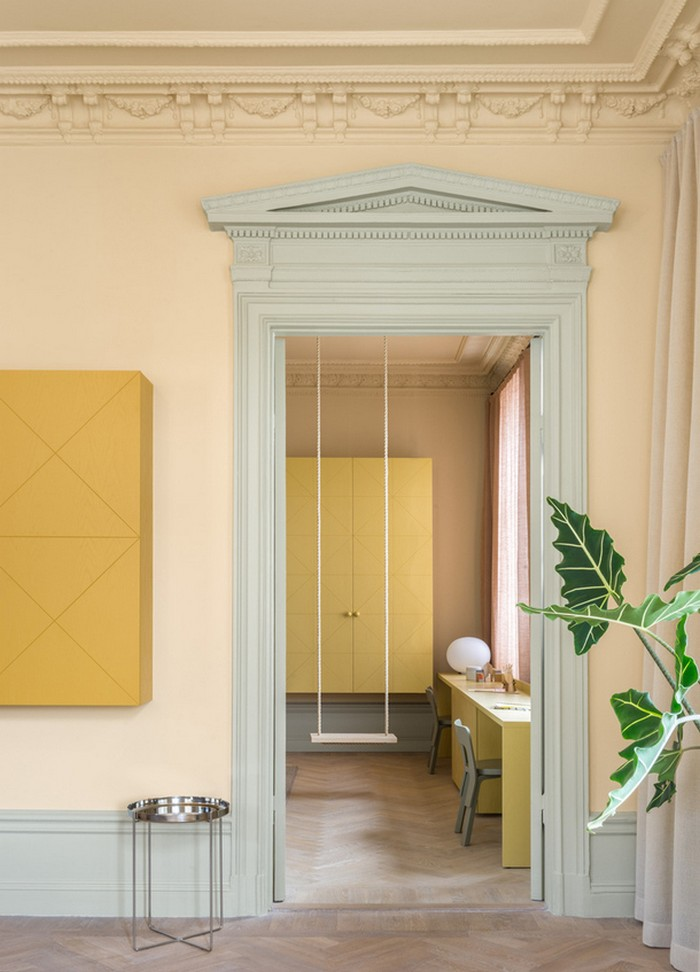 Интерьер апартаментов  Интерьер апартаментов в центре Стокгольма  Quality97  Quality97 04stockholm
