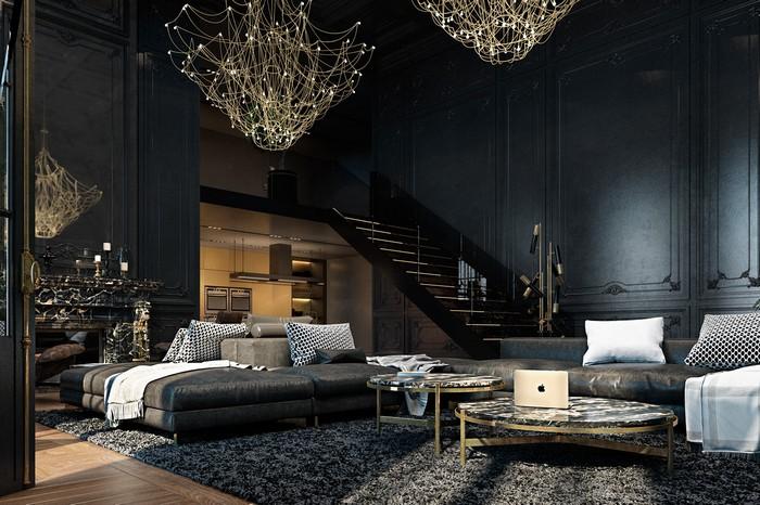 Квартира в Париже от дизайнеров Ирины Джемесюк и Виталия Юрова c6f56927604799
