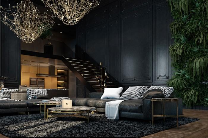 Квартира в Париже от дизайнеров Ирины Джемесюк и Виталия Юрова d1945327604799