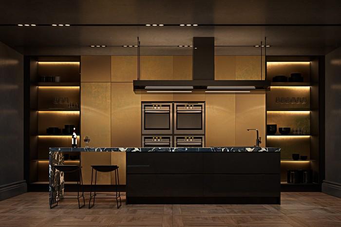 Квартира в Париже от дизайнеров Ирины Джемесюк и Виталия Юрова d1b47e27604799