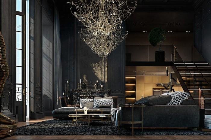Квартира в Париже от дизайнеров Ирины Джемесюк и Виталия Юрова d357ee27604799