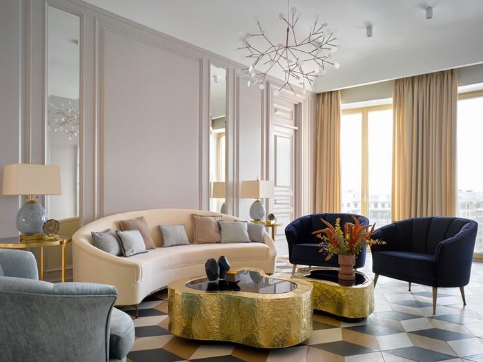 Интерьер квартиры для молодой семьи  Интерьер квартиры для молодой семьи от Екатерины Лашмановой des1