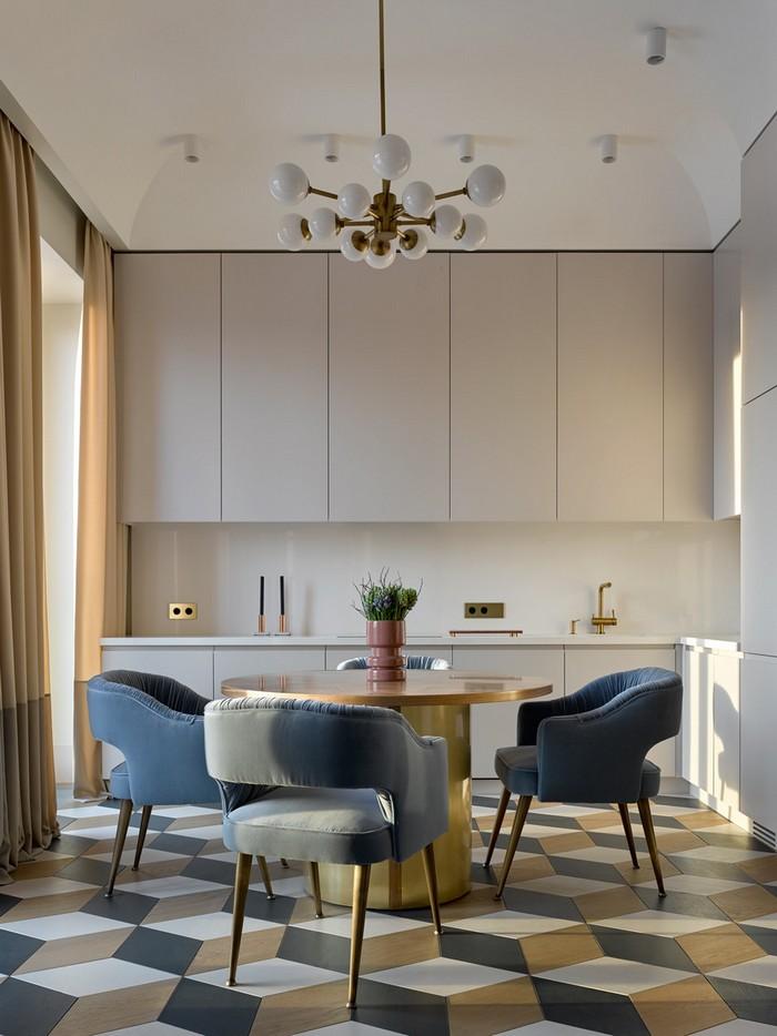 Интерьер квартиры для молодой семьи  Интерьер квартиры для молодой семьи от Екатерины Лашмановой des3