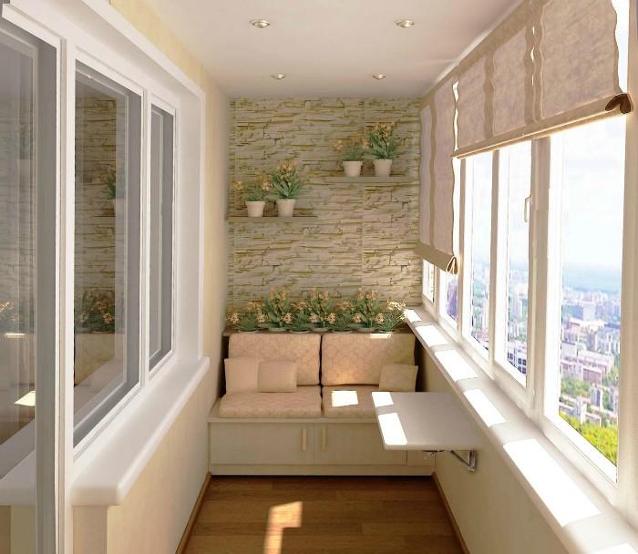 лучшие идеи по оформлению балкона Балкон Балкон: лучшие идеи по оформлению             1 1