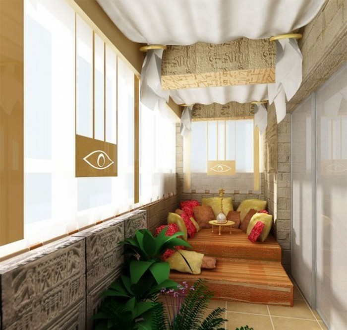 лучшие идеи по оформлению балкона Балкон Балкон: лучшие идеи по оформлению             6