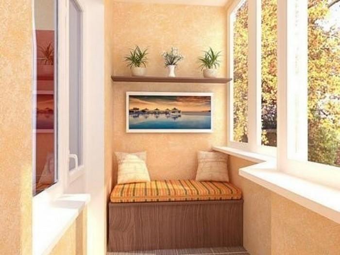 лучшие идеи по оформлению балкона