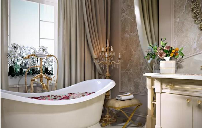 Ванная комната во французском стиле Ванная комната Ванная комната во французском стиле           1 1